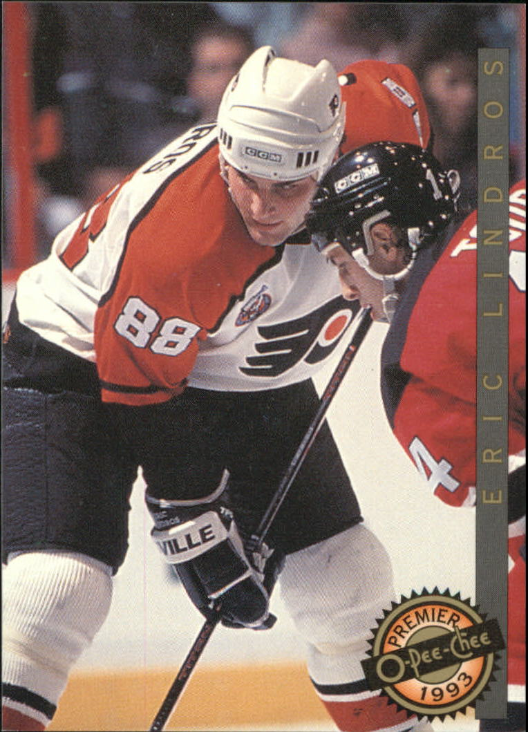 1992-93 OPC Premier Top Rookies #1 Eric Lindros
