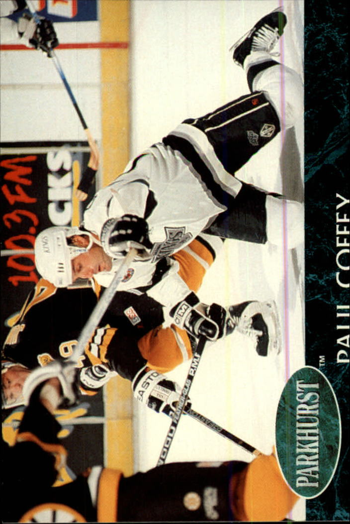 1992-93 Parkhurst #63 Paul Coffey