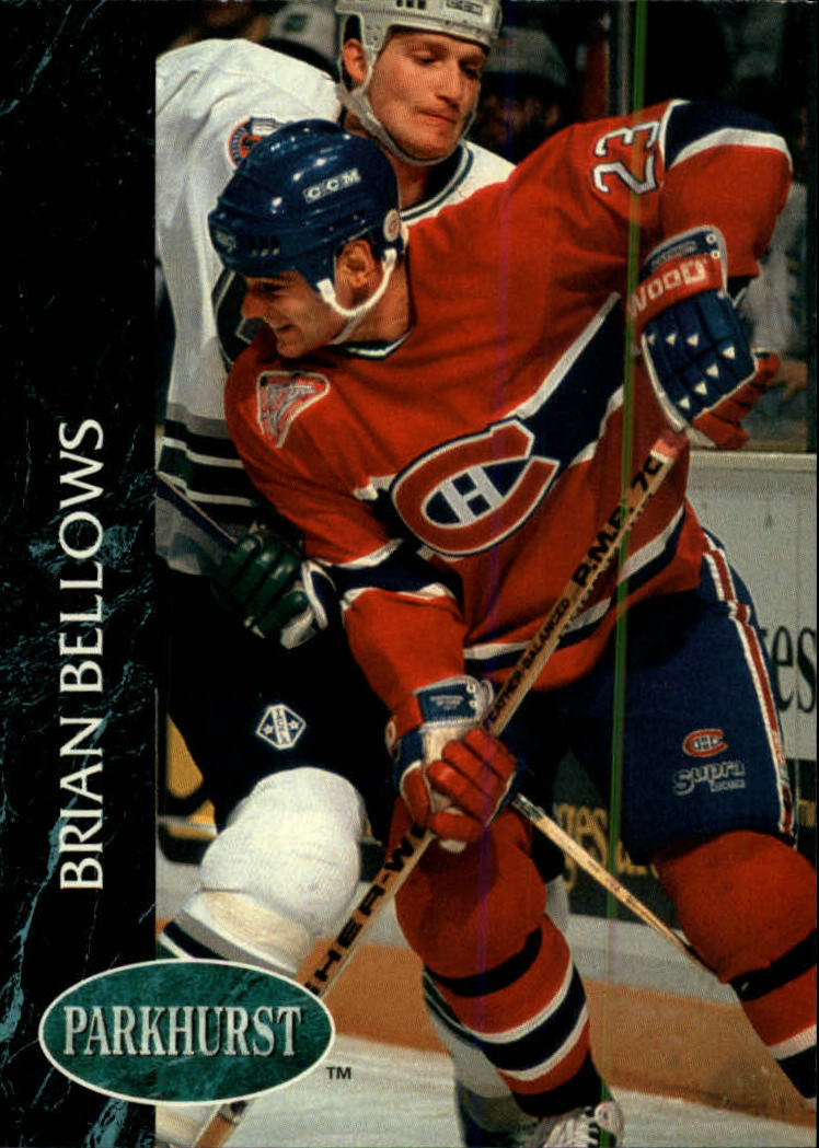 1992-93 Parkhurst #87 Brian Bellows