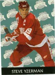 1992-93 Parkhurst #456 Steve Yzerman AS