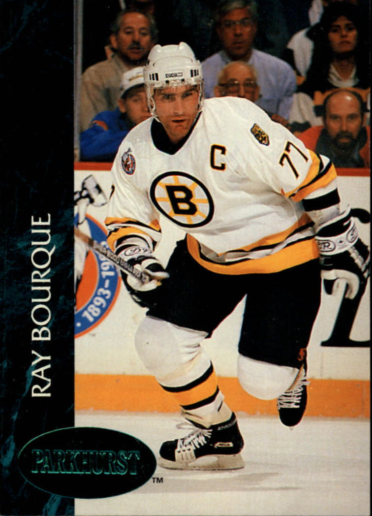 1992-93 Parkhurst Emerald Ice #1 Ray Bourque