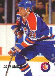 1992-93 Parkhurst Cherry Picks #CP15 Dave Manson