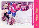 1992-93 Parkhurst Parkie Reprints #PR1 Jacques Plante