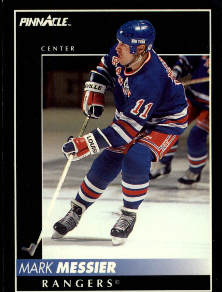 1992-93 Pinnacle #1 Mark Messier