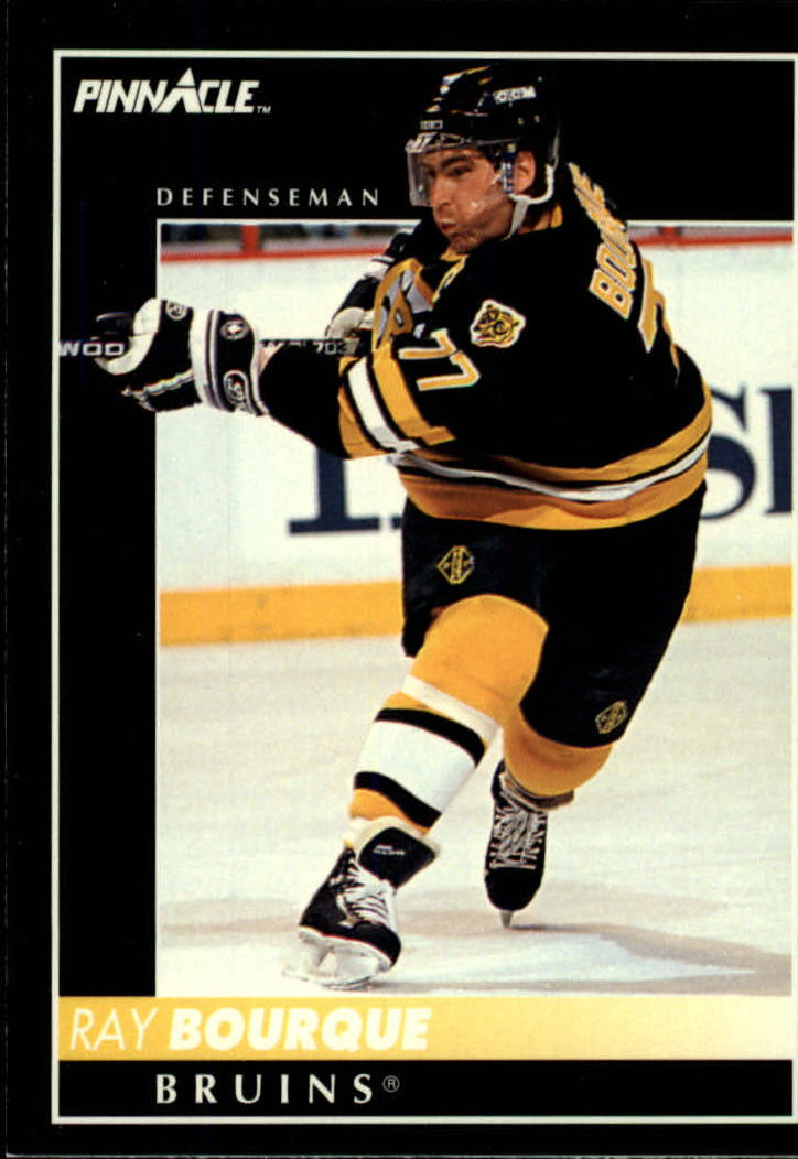 1992-93 Pinnacle #2 Ray Bourque