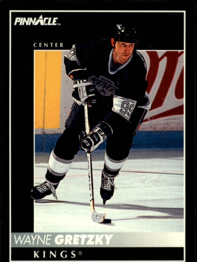 1992-93 Pinnacle #200 Wayne Gretzky