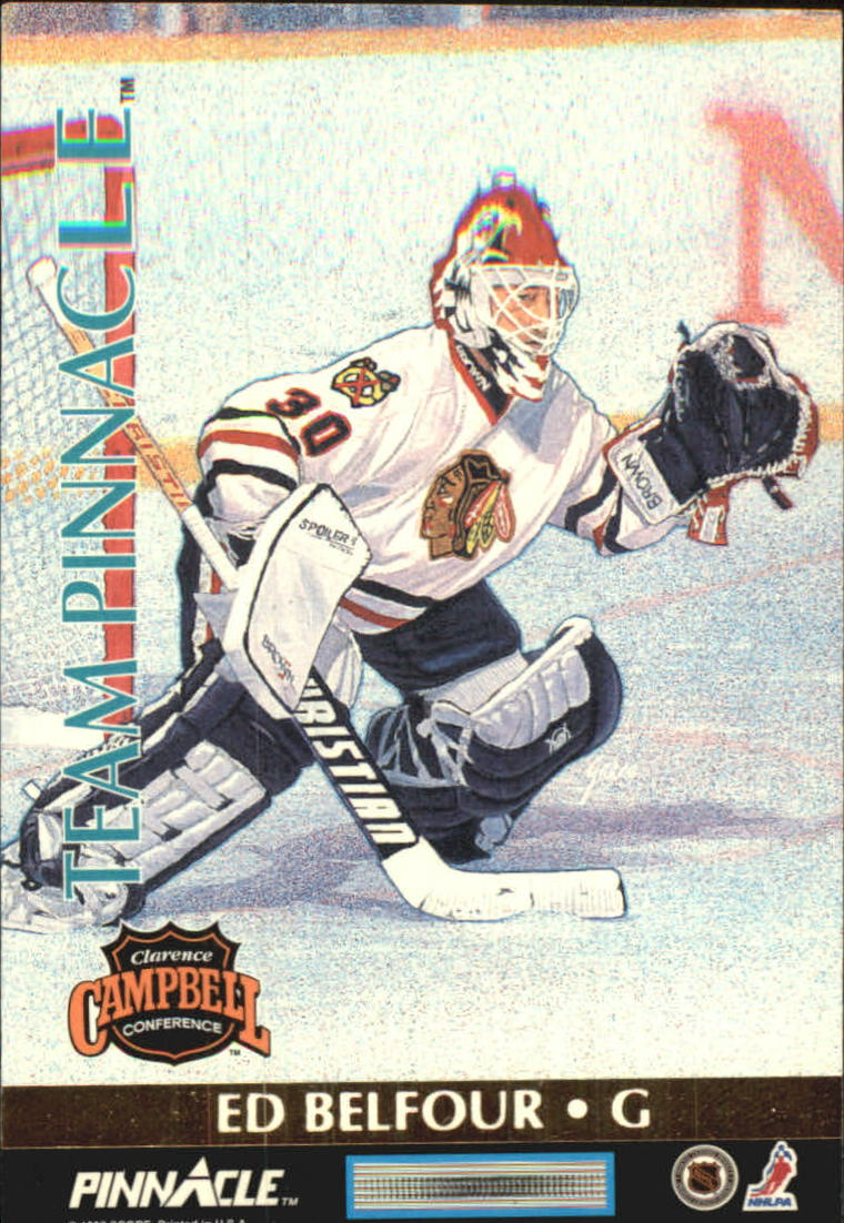 1992-93 Pinnacle Team Pinnacle #1 Mike Richter/Ed Belfour
