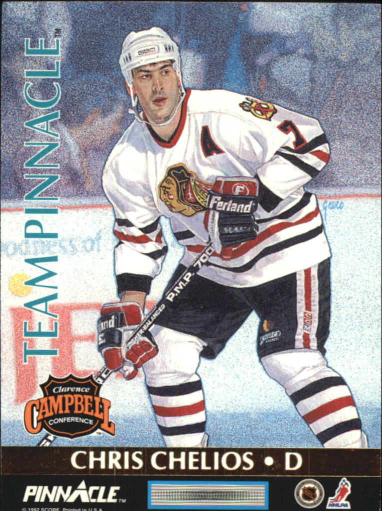 1992-93 Pinnacle Team Pinnacle #2 Ray Bourque/Chris Chelios