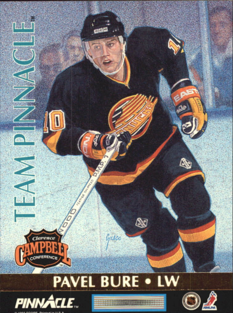 1992-93 Pinnacle Team Pinnacle #4 Kevin Stevens/Pavel Bure