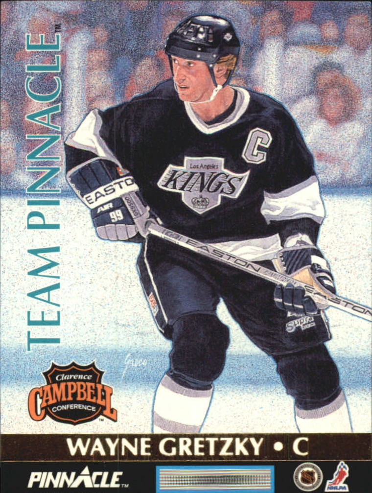 1992-93 Pinnacle Team Pinnacle #5 Eric Lindros/Wayne Gretzky