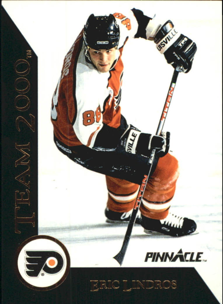 1992-93 Pinnacle Team 2000 #1 Eric Lindros