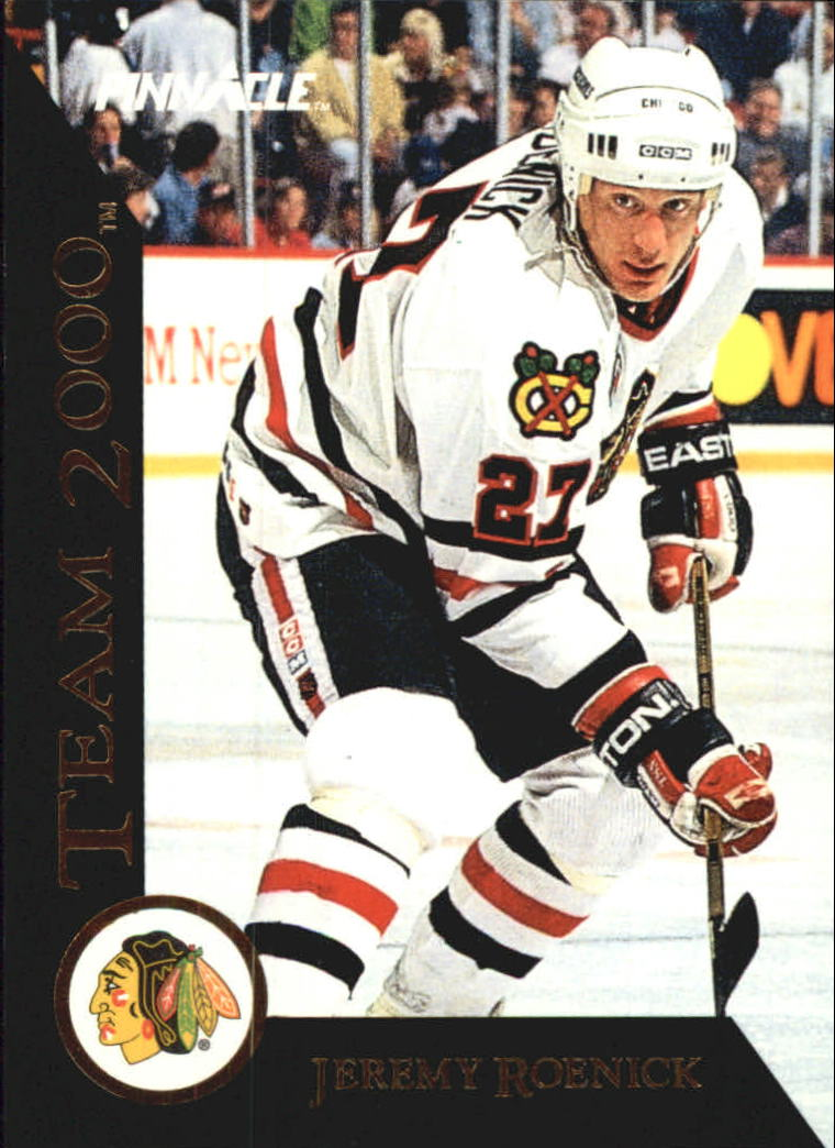 1992-93 Pinnacle Team 2000 #27 Jeremy Roenick