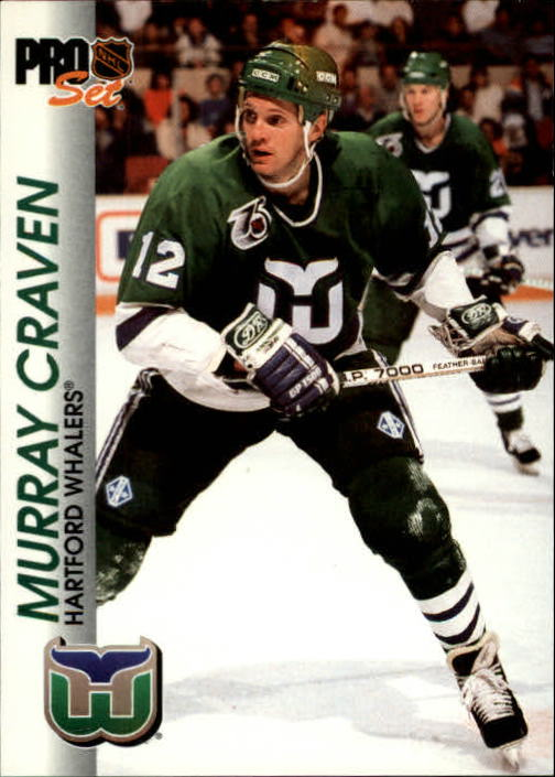 1992-93 Pro Set #60 Murray Craven