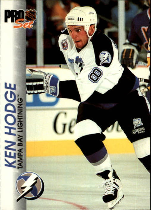 1992-93 Pro Set #182 Ken Hodge Jr. front image
