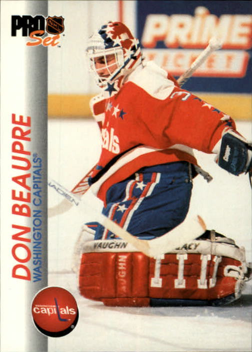 1992-93 Pro Set #206 Don Beaupre