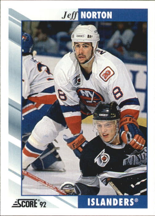 1992-93 Score #56 Jeff Norton