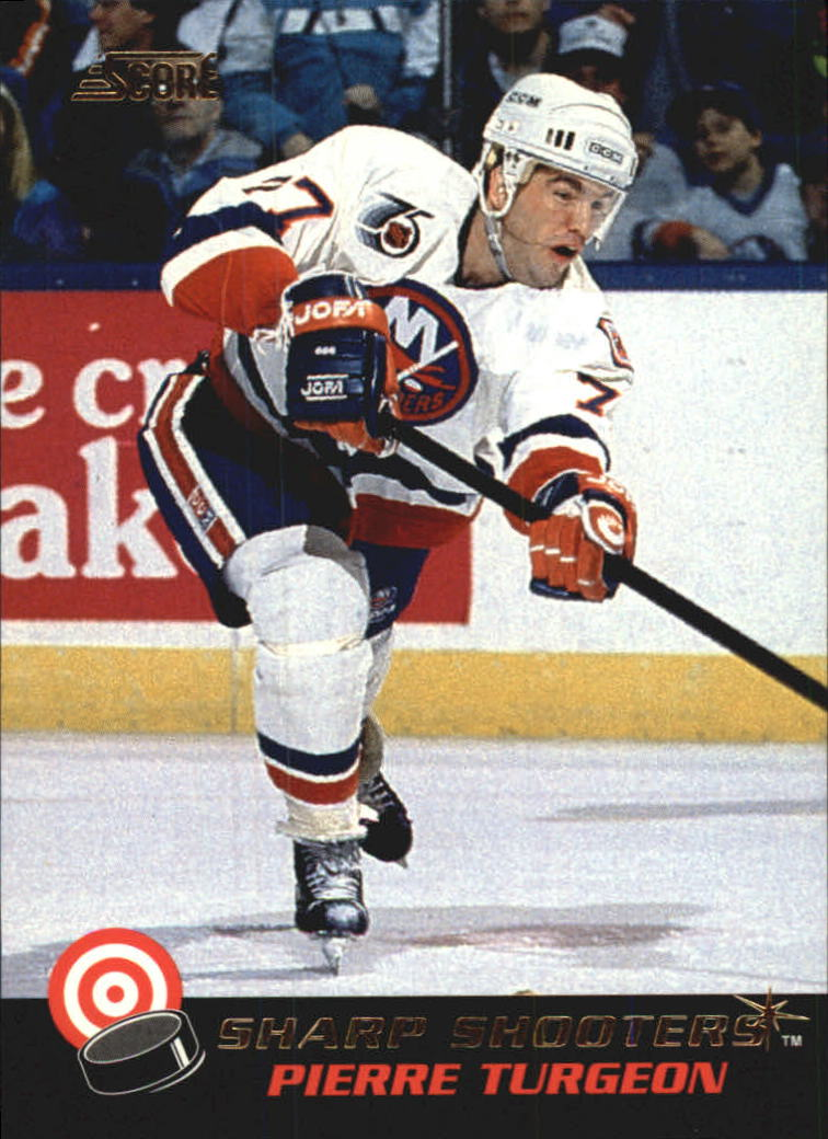 1992-93 Score Sharpshooters #25 Pierre Turgeon