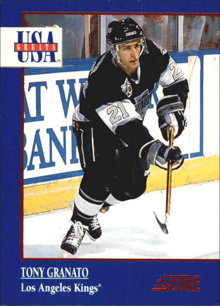 1992-93 Score USA Greats #4 Tony Granato