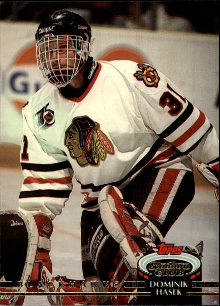 1992-93 Stadium Club #107 Dominik Hasek