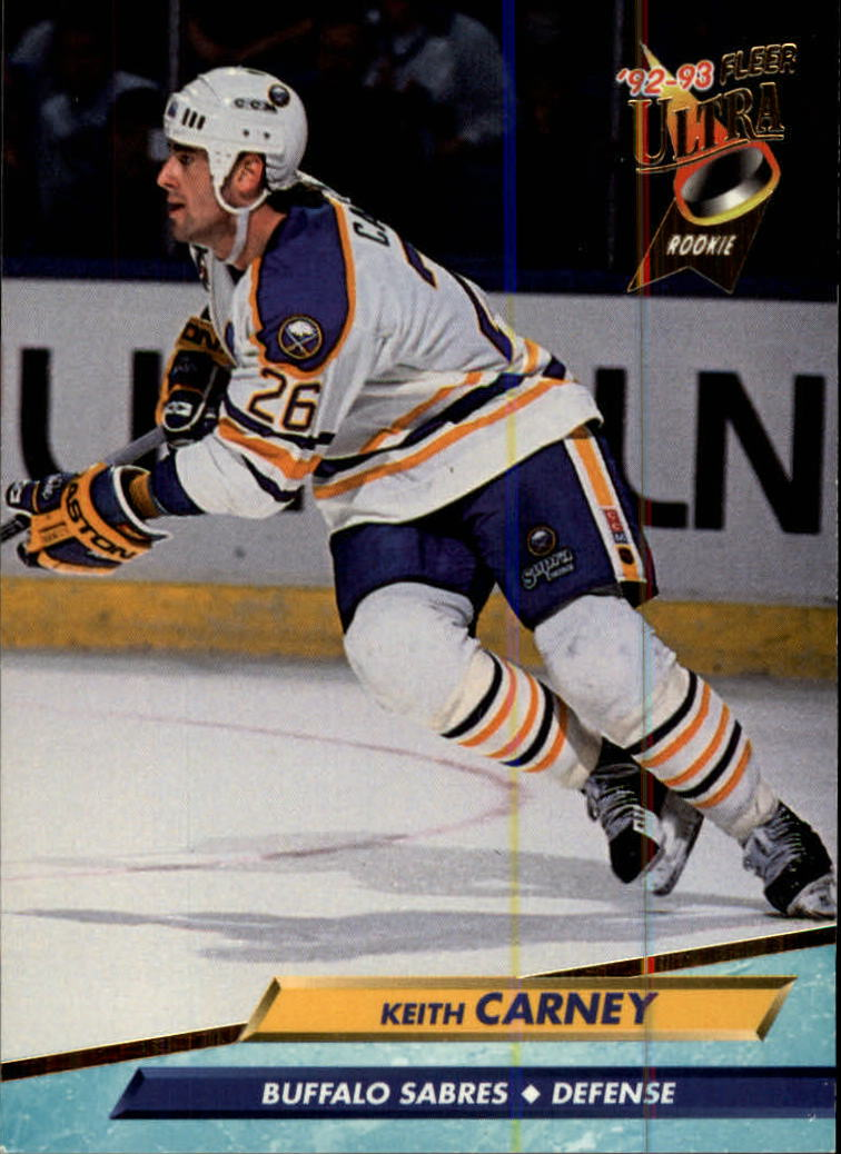 1992-93 Ultra #13 Keith Carney RC