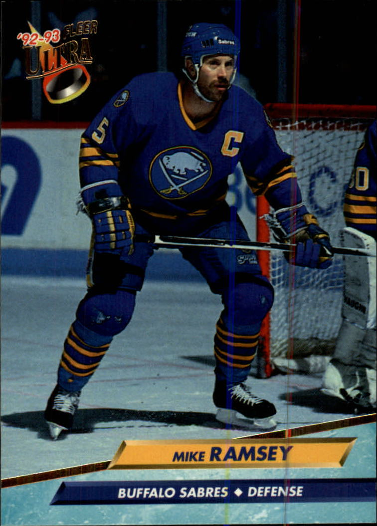 1992-93 Ultra #19 Mike Ramsey