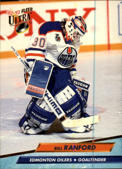 1992-93 Ultra #65 Bill Ranford