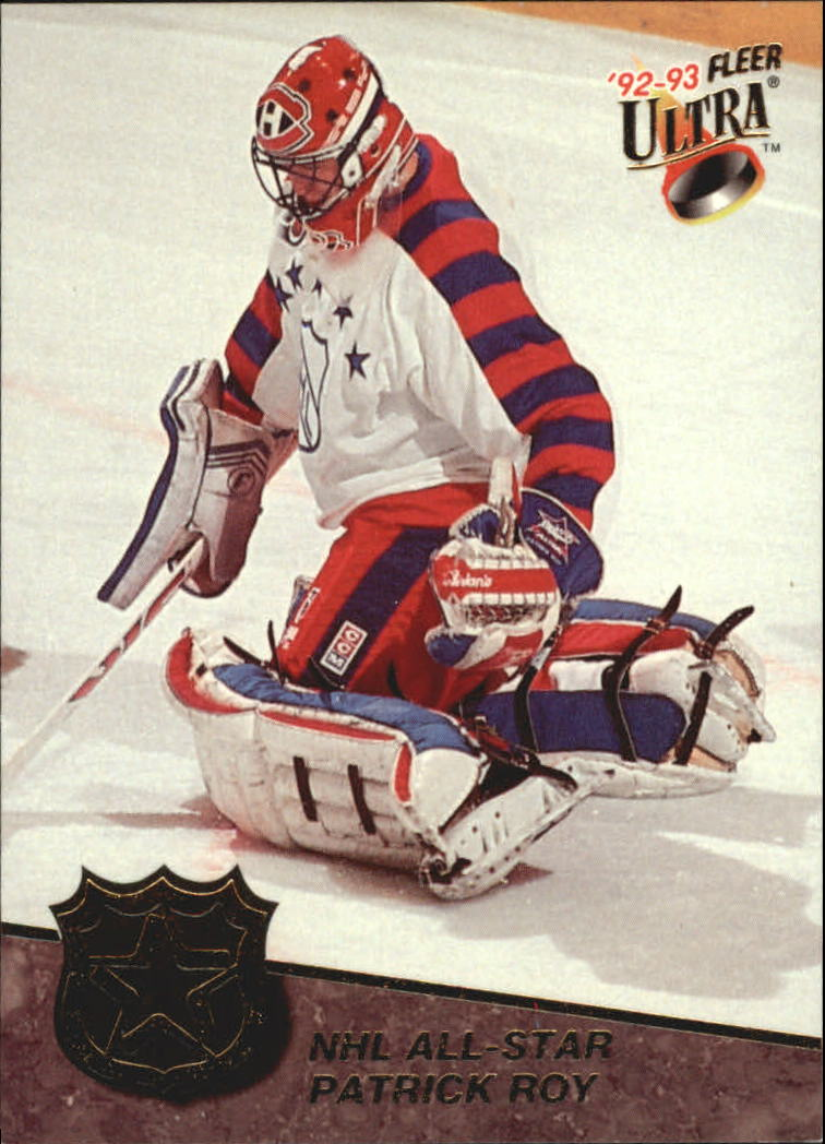 1992-93 Ultra All-Stars #3 Patrick Roy