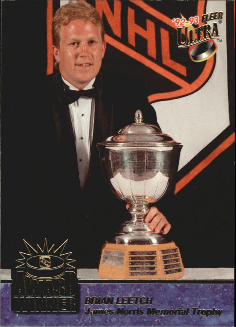 1992-93 Ultra Award Winners #2 Brian Leetch