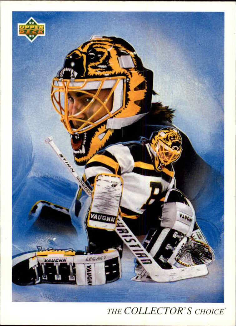 1992-93 Upper Deck #1 Andy Moog TC