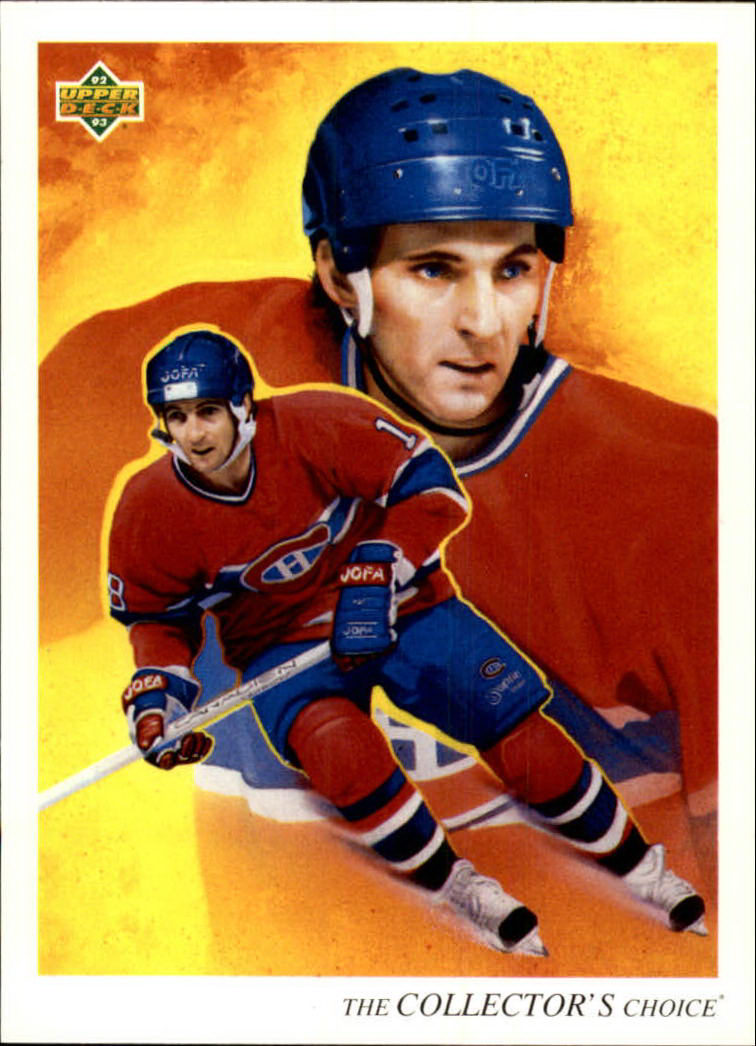 1992-93 Upper Deck #10 Denis Savard TC