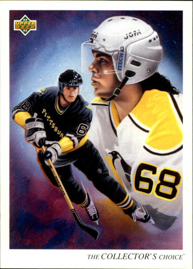 1992-93 Upper Deck #16 Jaromir Jagr TC