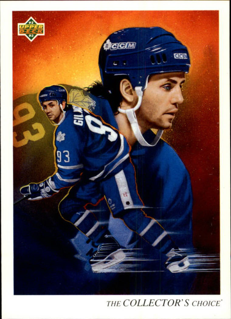 1992-93 Upper Deck #21 Doug Gilmour TC