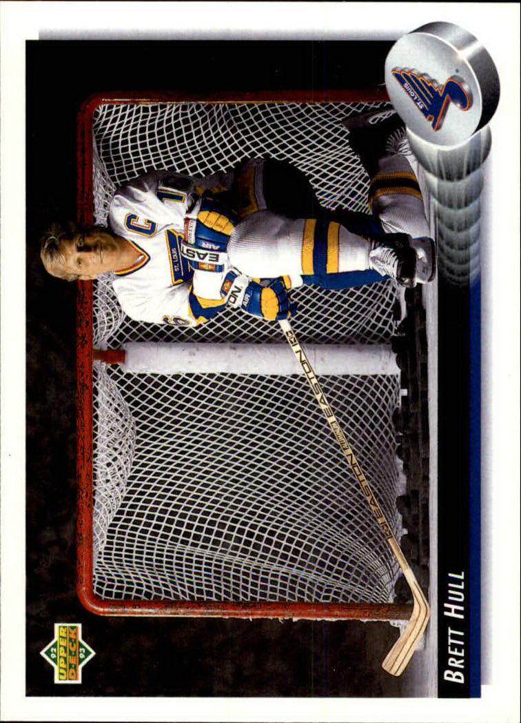 1992-93 Upper Deck #29 Brett Hull