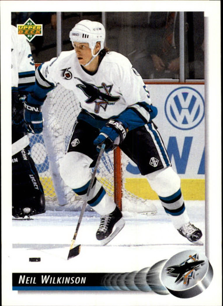1992-93 Upper Deck #30 Neil Wilkinson