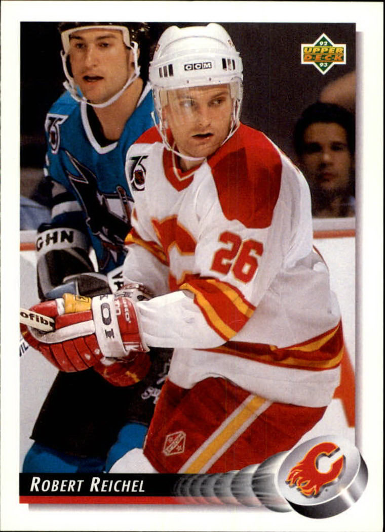1992-93 Upper Deck #42 Robert Reichel