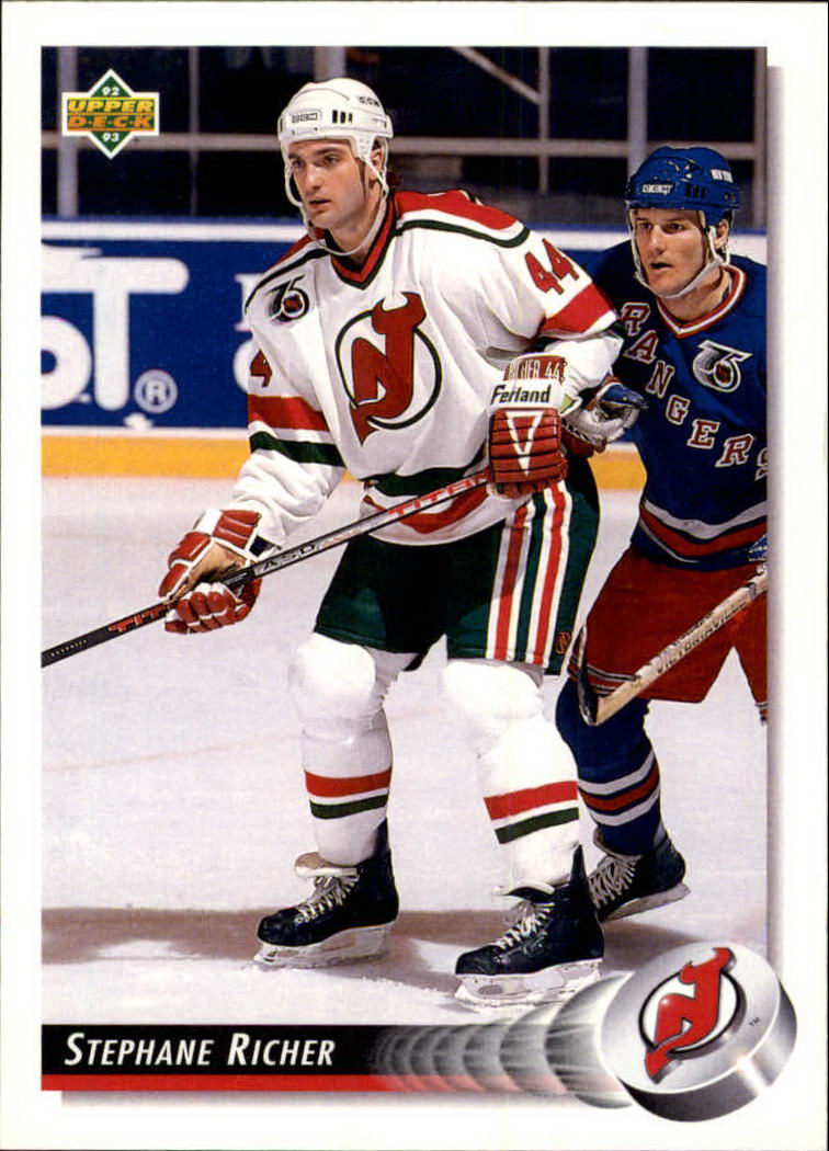 1992-93 Upper Deck #56 Stephane Richer