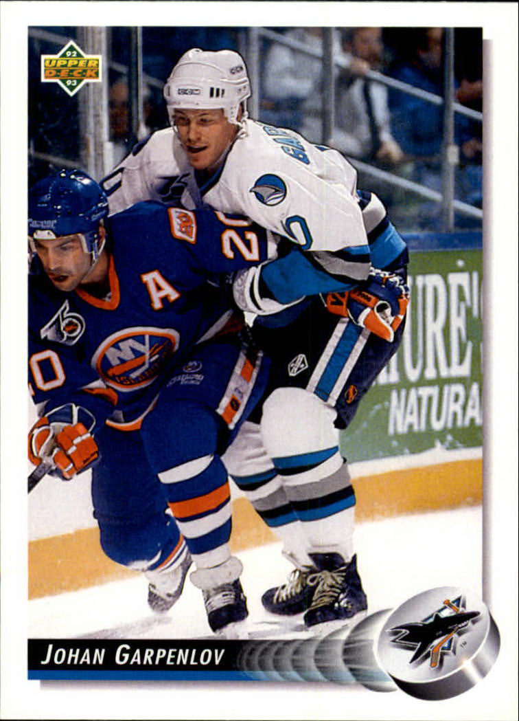 1992-93 Upper Deck #59 Johan Garpenlov