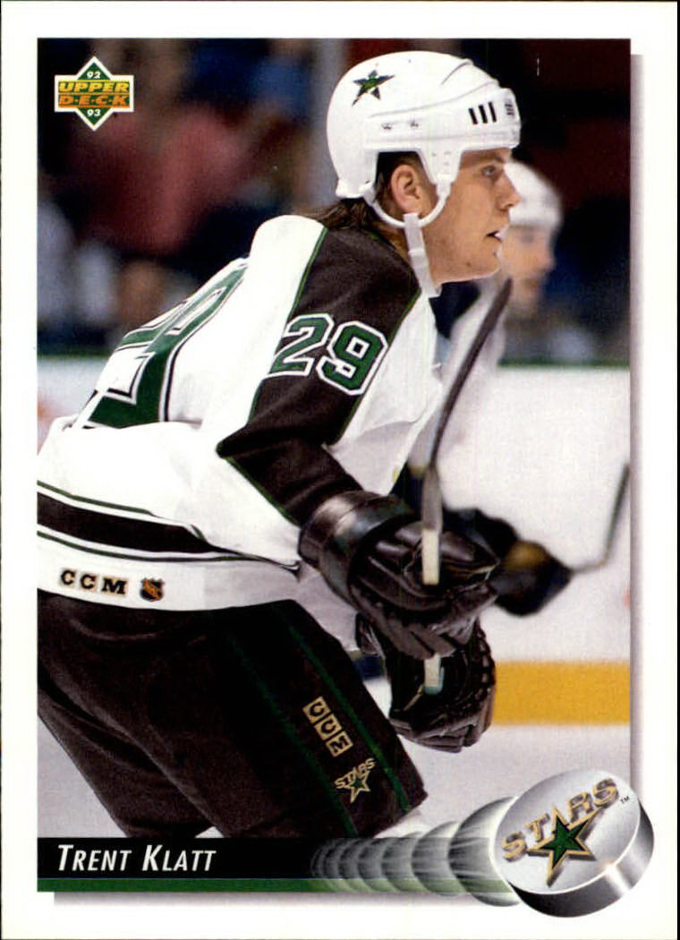 1992-93 Upper Deck #62 Trent Klatt RC