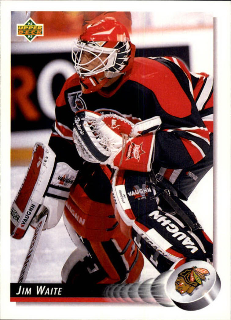 1992-93 Upper Deck #67 Jim Waite