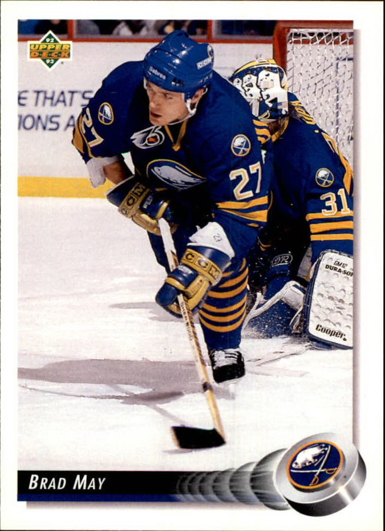 1992-93 Upper Deck #74 Brad May