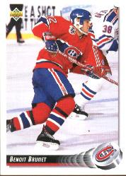1992-93 Upper Deck #80 Benoit Brunet