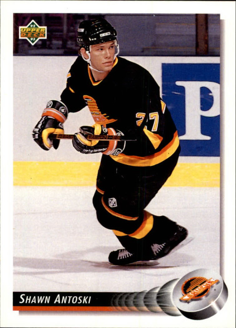 1992-93 Upper Deck #81 Shawn Antoski