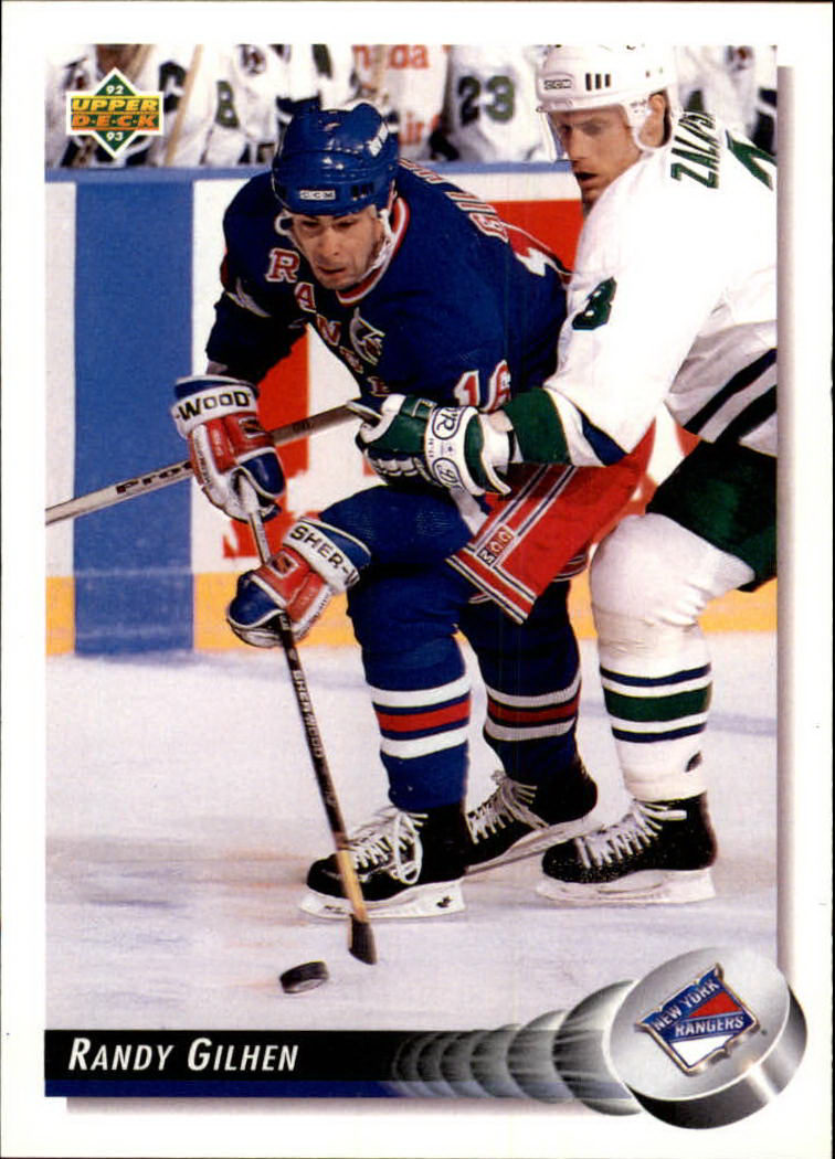 1992-93 Upper Deck #82 Randy Gilhen