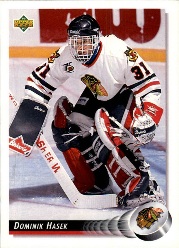 1992-93 Upper Deck #92 Dominik Hasek
