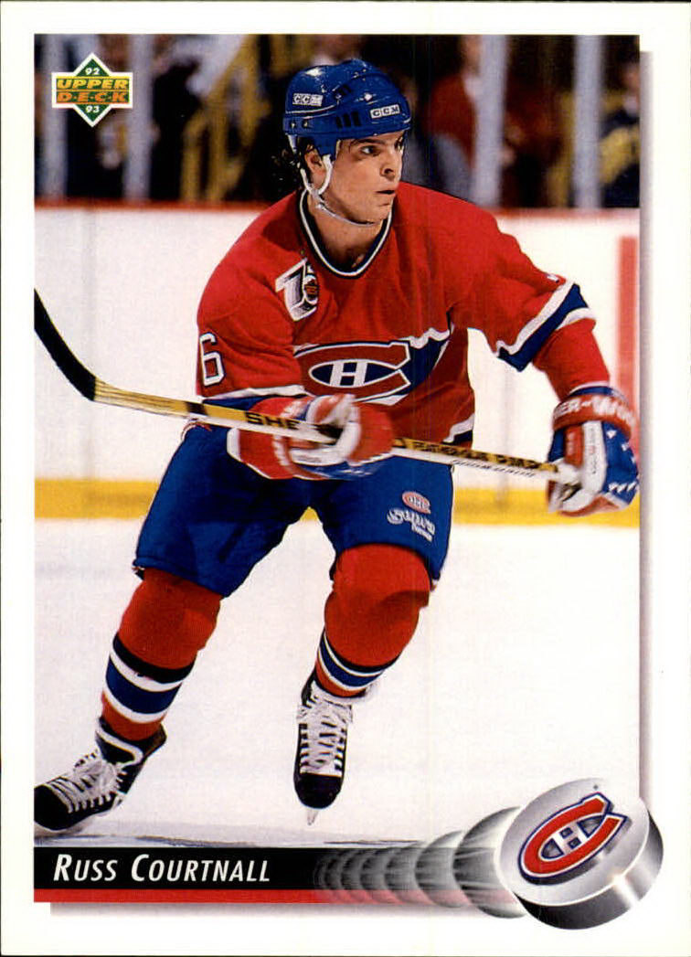 1992-93 Upper Deck #94 Russ Courtnall
