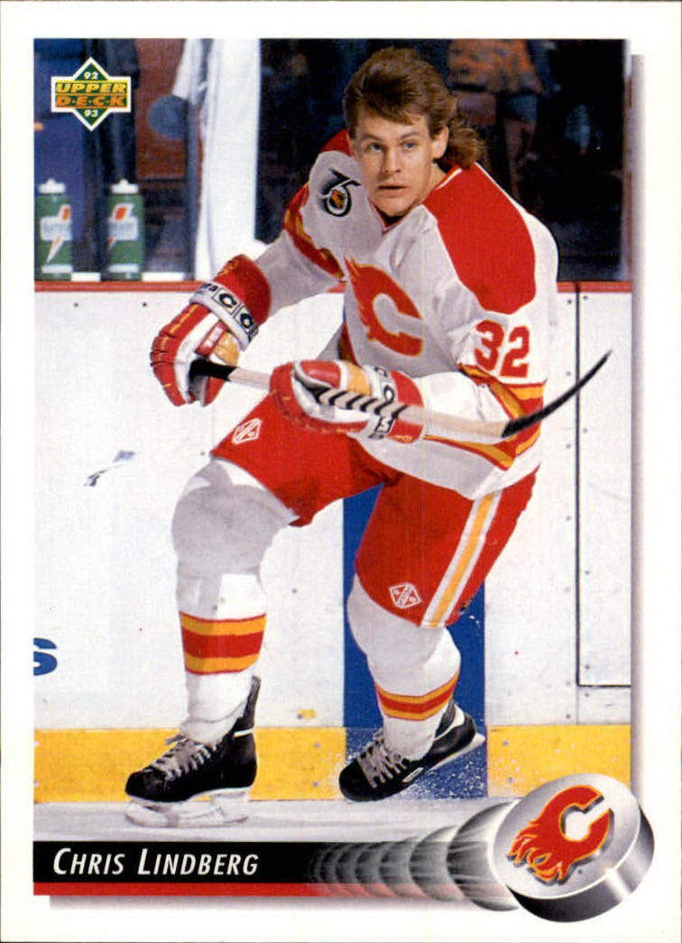 1992-93 Upper Deck #97 Chris Lindberg