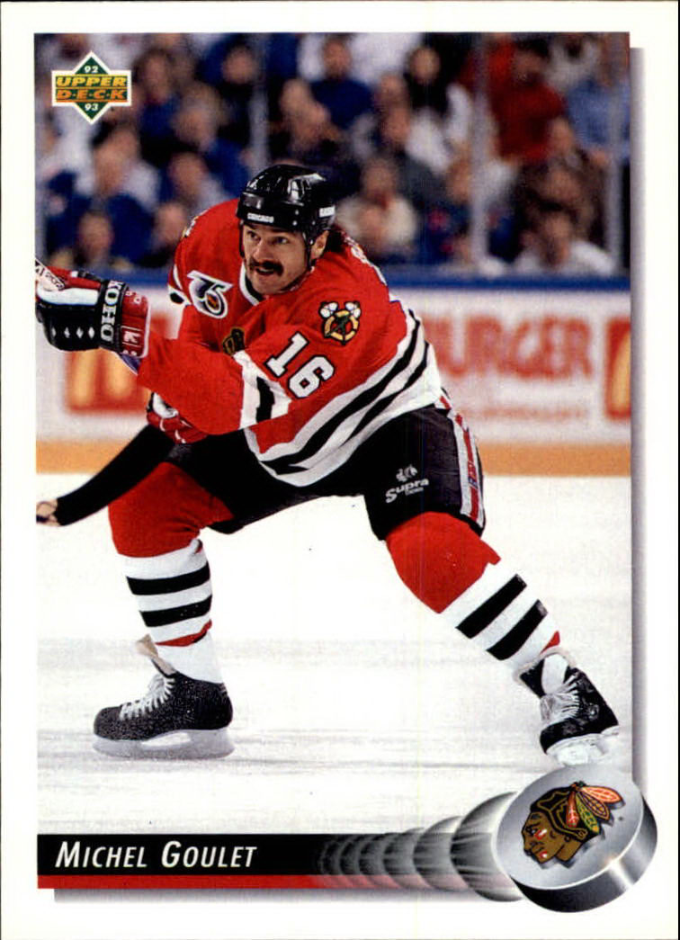 1992-93 Upper Deck #113 Michel Goulet