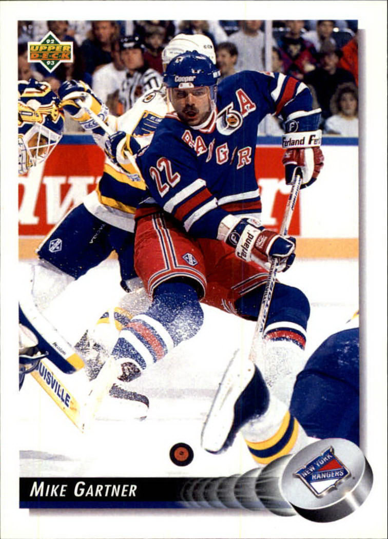 1992-93 Upper Deck #126 Mike Gartner