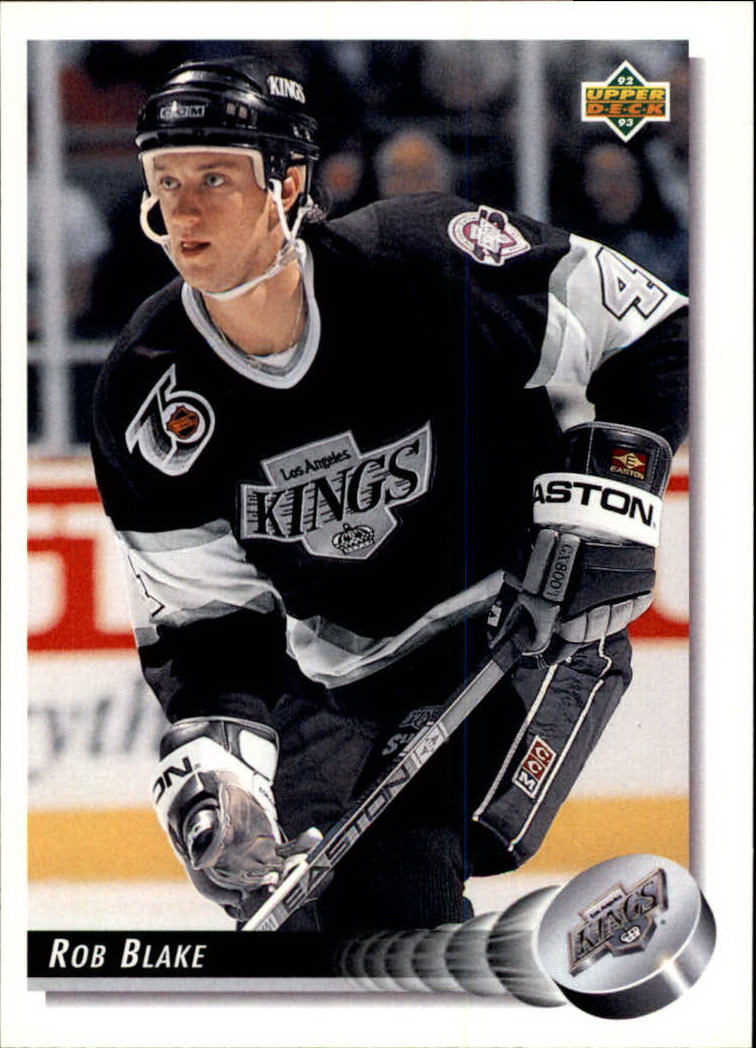 1992-93 Upper Deck #140 Rob Blake
