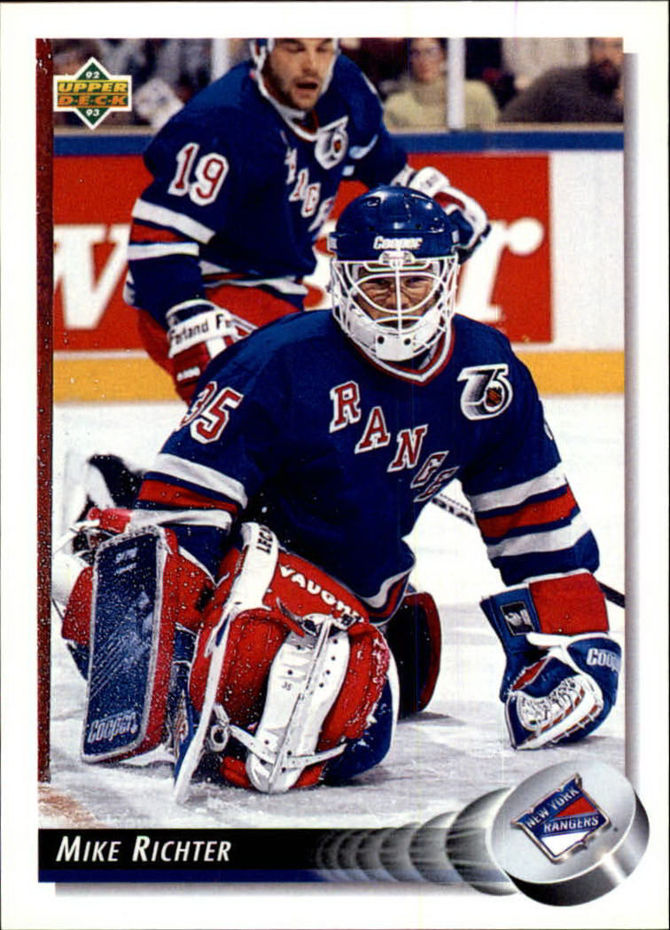 1992-93 Upper Deck #145 Mike Richter